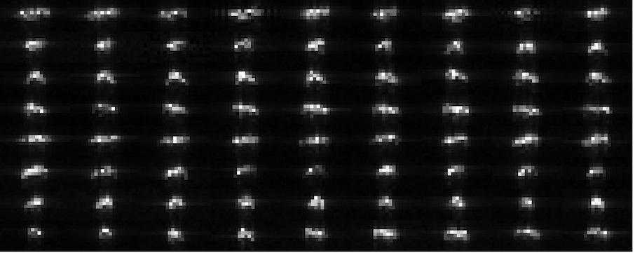 Asteroides 1912-1918 2012DA14.feb16.collage.72frames.8x.smaller