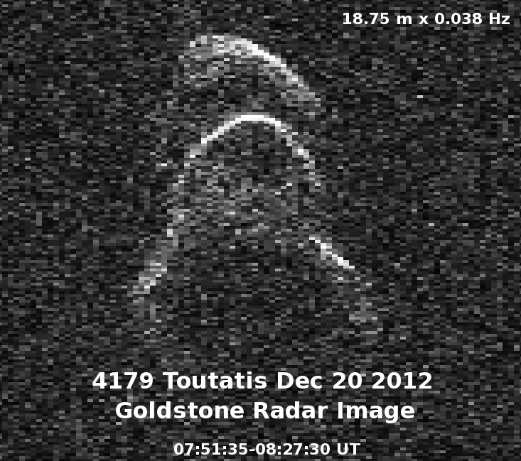 asteroid toutatis december 12 - photo #8
